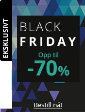 Black Friday Opp til -70%