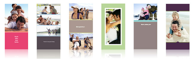Panoramische kaarten: ideaal voor bv communiekaarten of een valentijnskaart