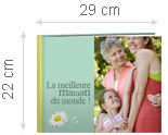 Livre Photo A4 Citation Maman