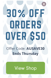 30% OFF orders over $50