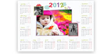 Small Collage Calendar