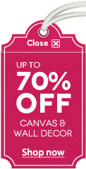 Up to 70% OFF Canvas & Wall Decor