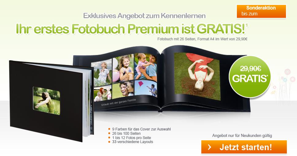 Fotobuch Premium GRATIS*