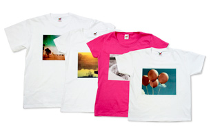 Personalise a T-Shirt with your own photo