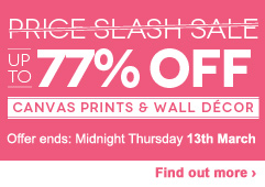 Up to 77% OFF Canvas Prints & Wall Decor