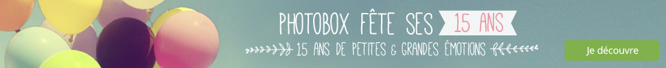 15 ans PhotoBox