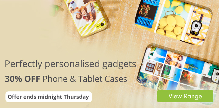 30% off Phone & Tablet Cases