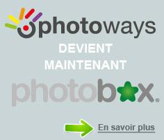 Photoways devient Photobox