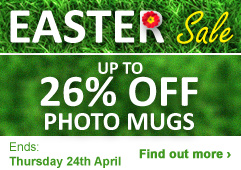 Up to 26% OFF Photo Mugs