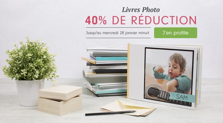Livres Photo 40% de réduction