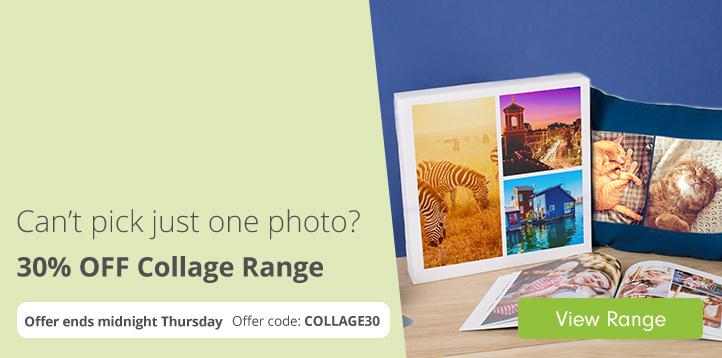30% off Collage Range