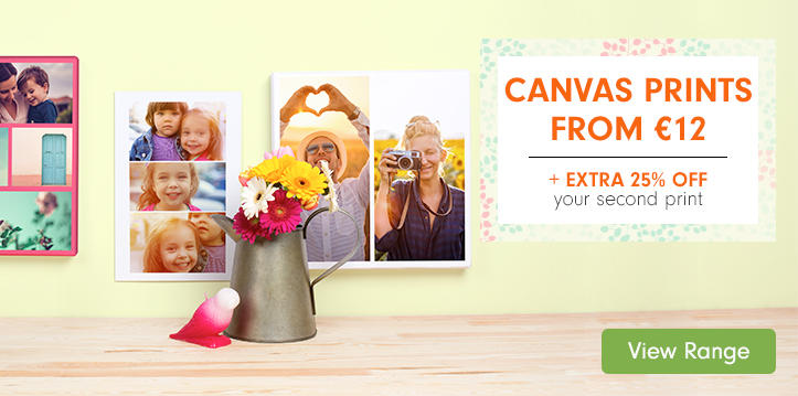Canvas Prints from €12