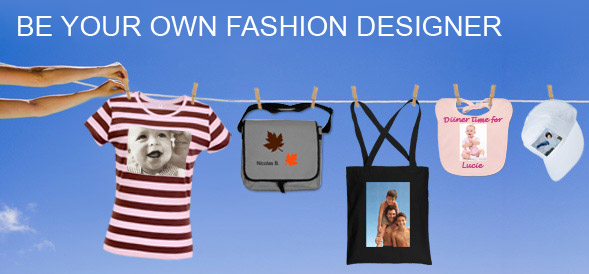 Create your own personalised photo fashion
