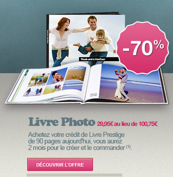 LIVRE PHOTO - 70%